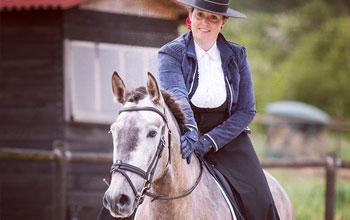 Concours des masters du cheval ibérique au Haras de Launay