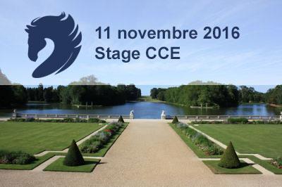 11 novembre – Stage CCE à Rambouillet