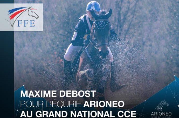 Grand national CCE à Saumur - Maxime Debost